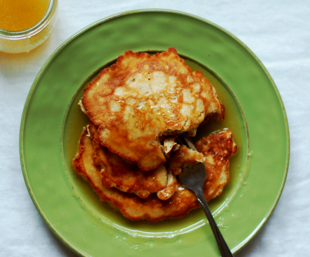 Oatmeal & Ginger Pancakes — Inspired by the Seasons
