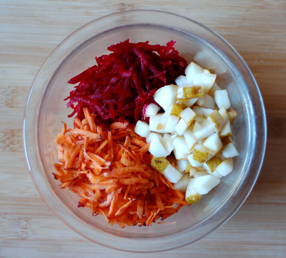 Beets, Carrots & Pears