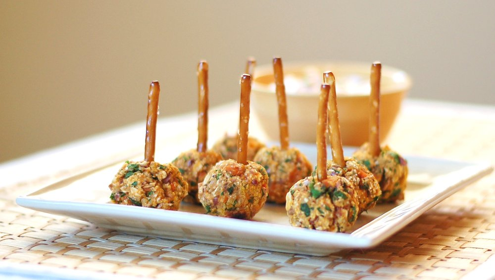 Sweet Potato Meatless Balls
