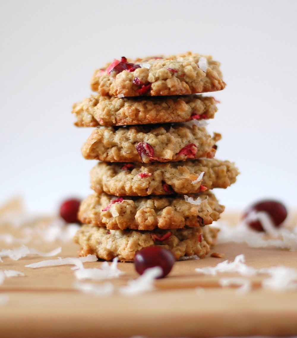 Cranberry and ginger Cookies