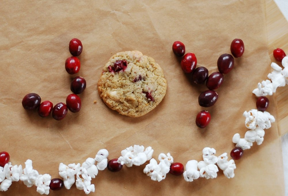 Cranberry Crunchewy Cookies