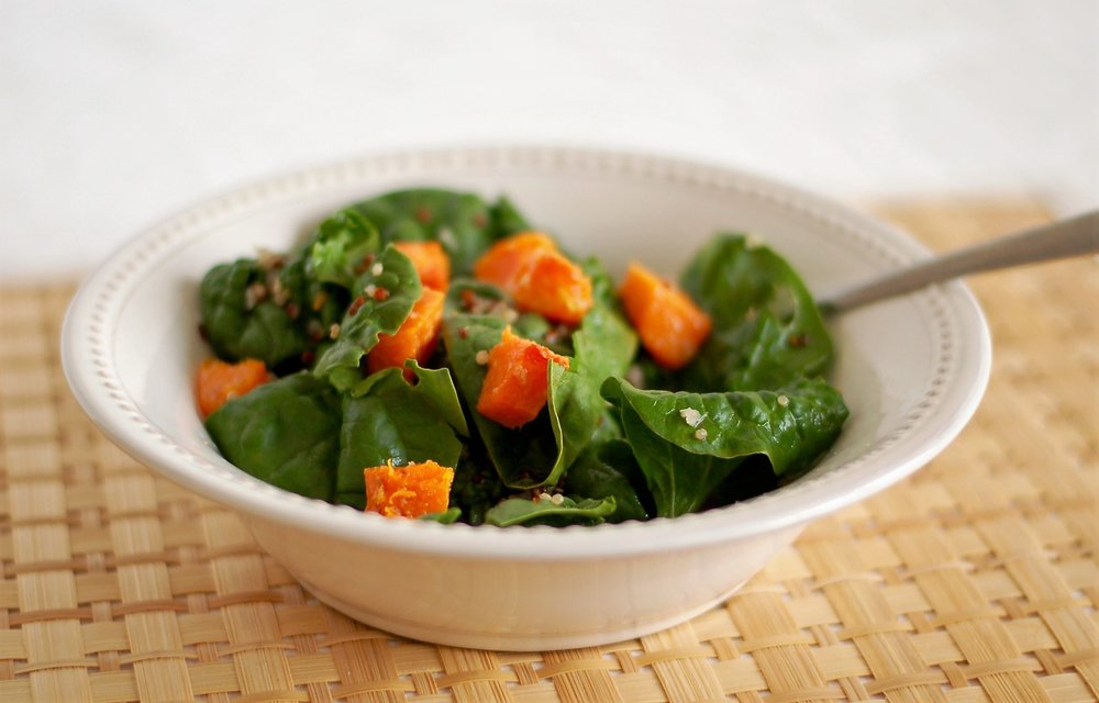 Marinated Butternut Squash Salad