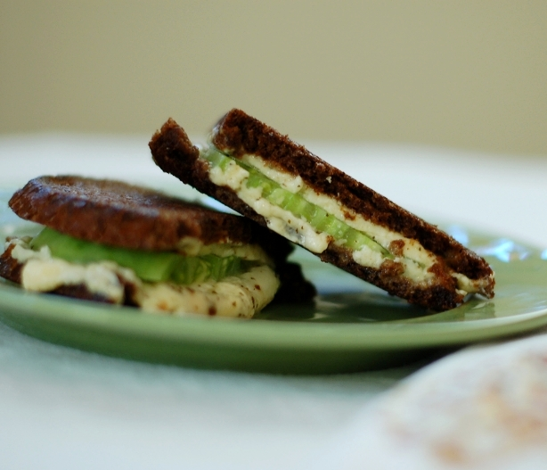 Green Tomato Grilled Cheese