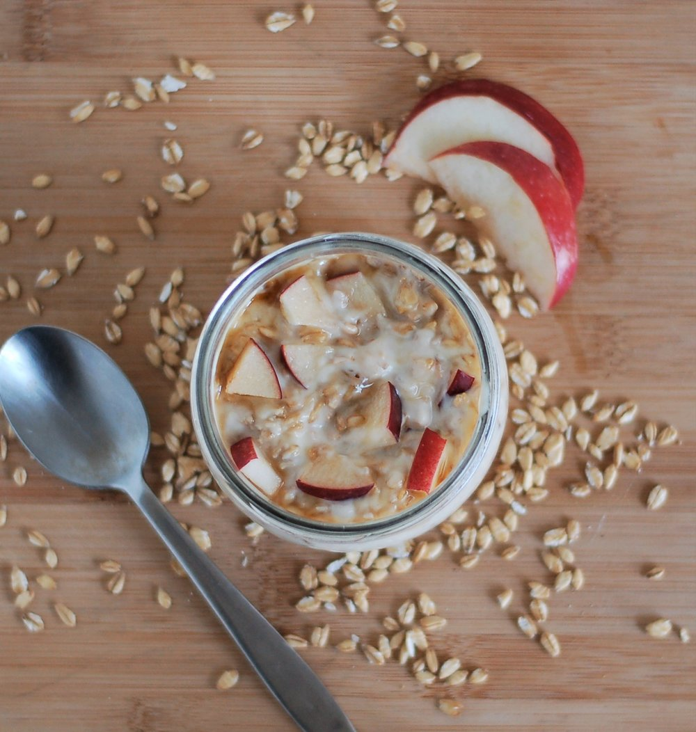 Maple Overnight Oatmeal