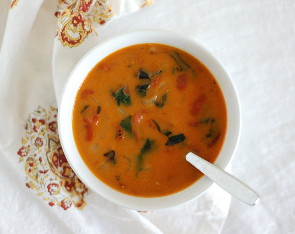Tomato & Red Lentil Soup