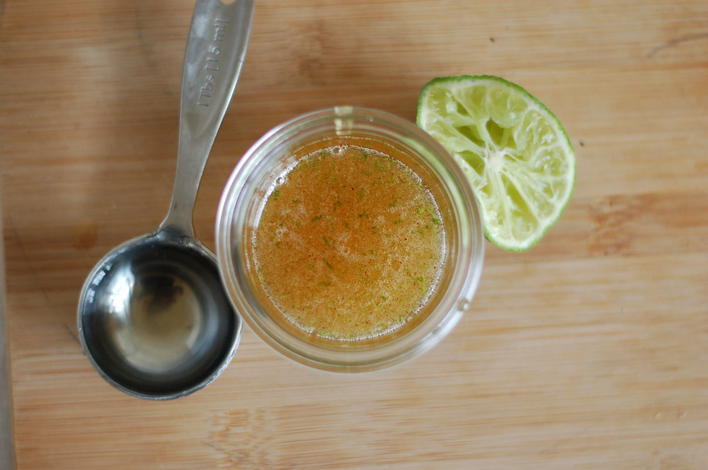 Spicy Honey Lime Topping