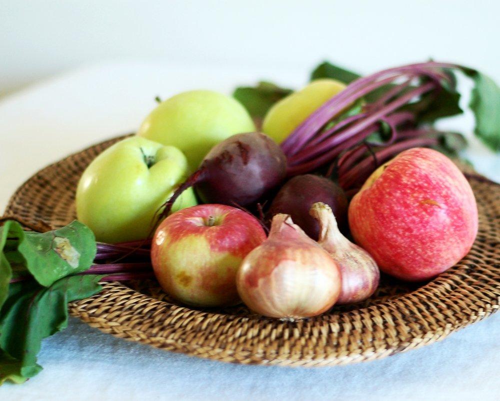 Apple & Beet Chutney