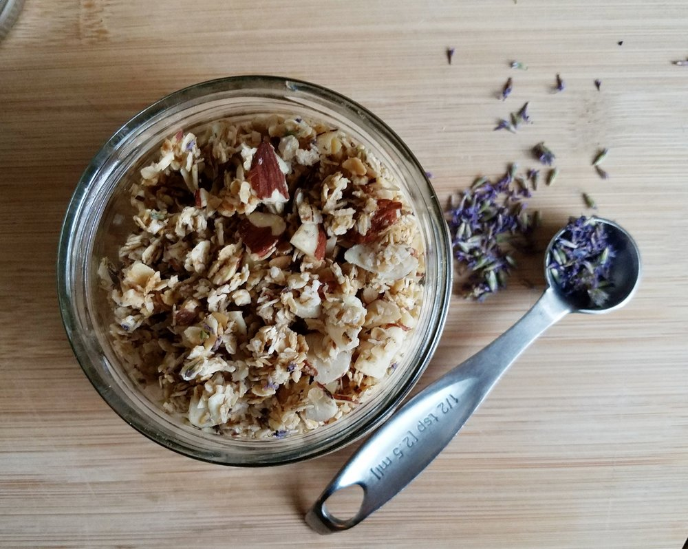 Granola with Anise Hyssop