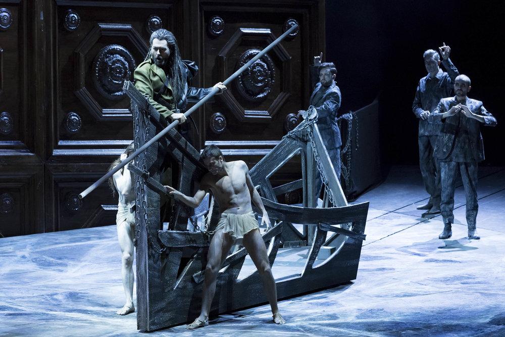 L'Orfeo at Teatro Regio di Torino.  Photo: Ramella&Giannese © Teatro Regio Torino