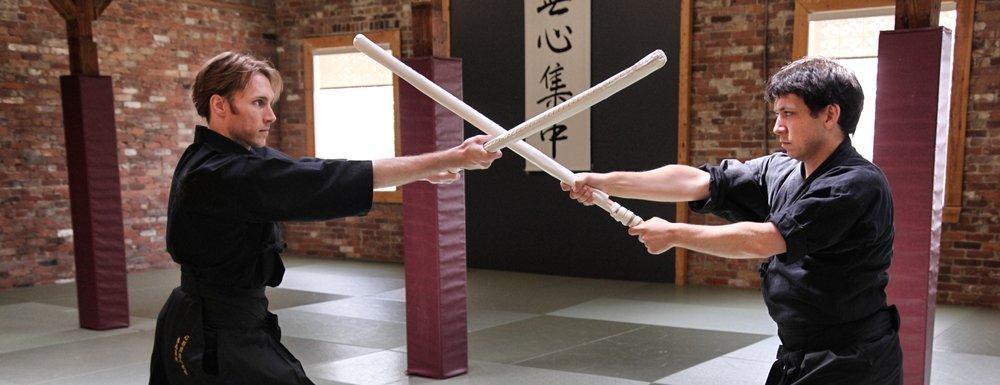 Kenjutsu Kata using fukuro shinai