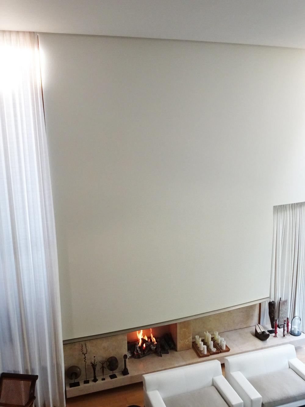 Open Concept Log Burner