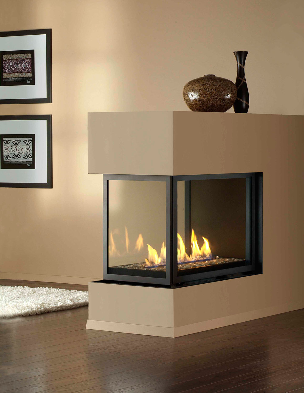 montigo h series panorama peninsula u2014 the fireplace specialist