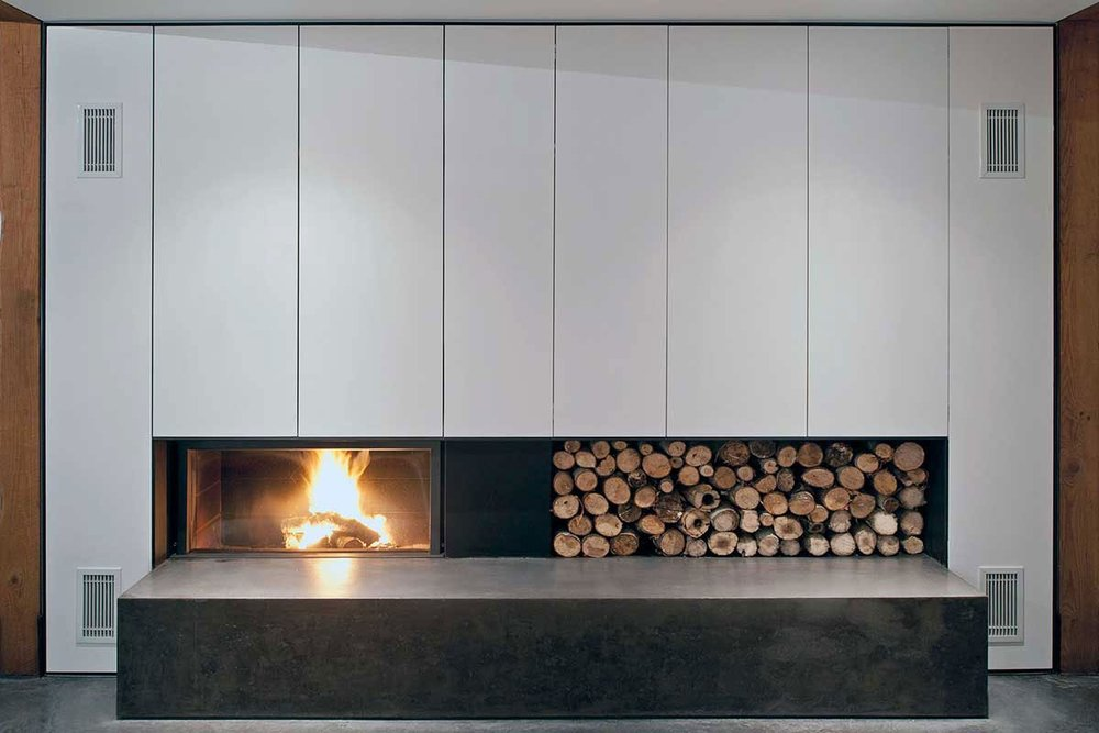 STÛV 21 SF WOODBURNING FIREPLACE SERIES