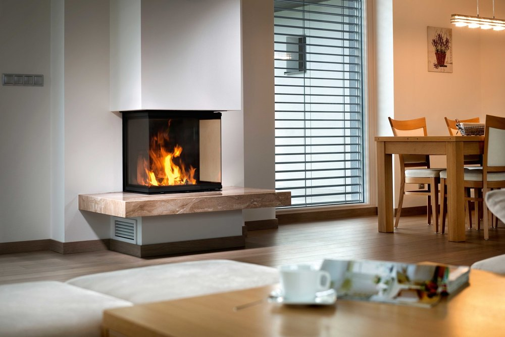 SPARTHERM ARTE 3RL THREE-SIDED WOODBURNING FIREPLACE SERIES