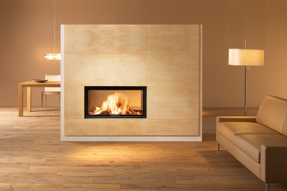SPARTHERM B-FDH SEE-THRU WOODBURNING FIREPLACE