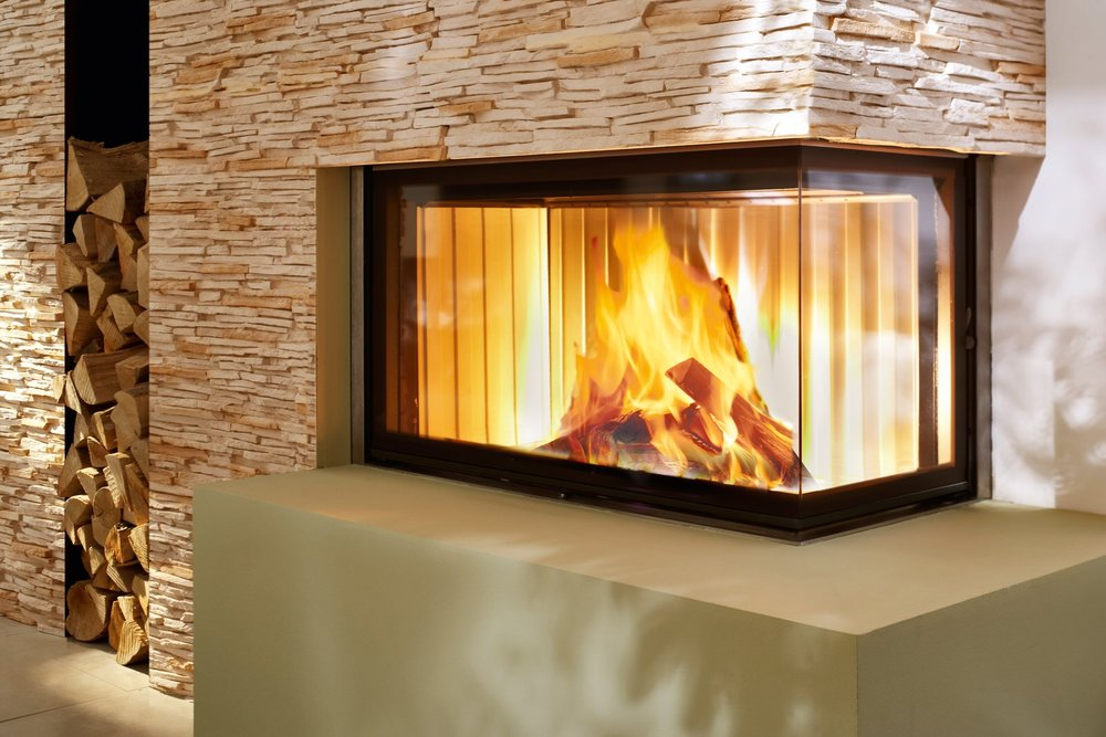 SPARTHERM VARIA 2 CORNER WOODBURNING FIREPLACE SERIES