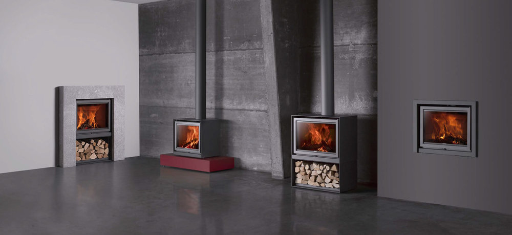 16 cube stove series by st v the fireplace specialist for Stuv 16 cube prix