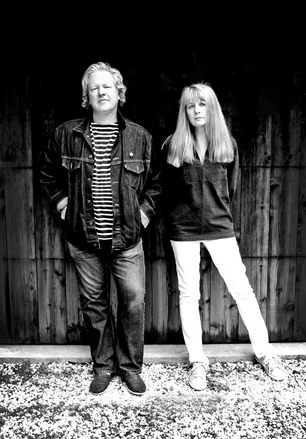 Christ Frantz and Tina Weymouth   Musicians: The Talking Heads