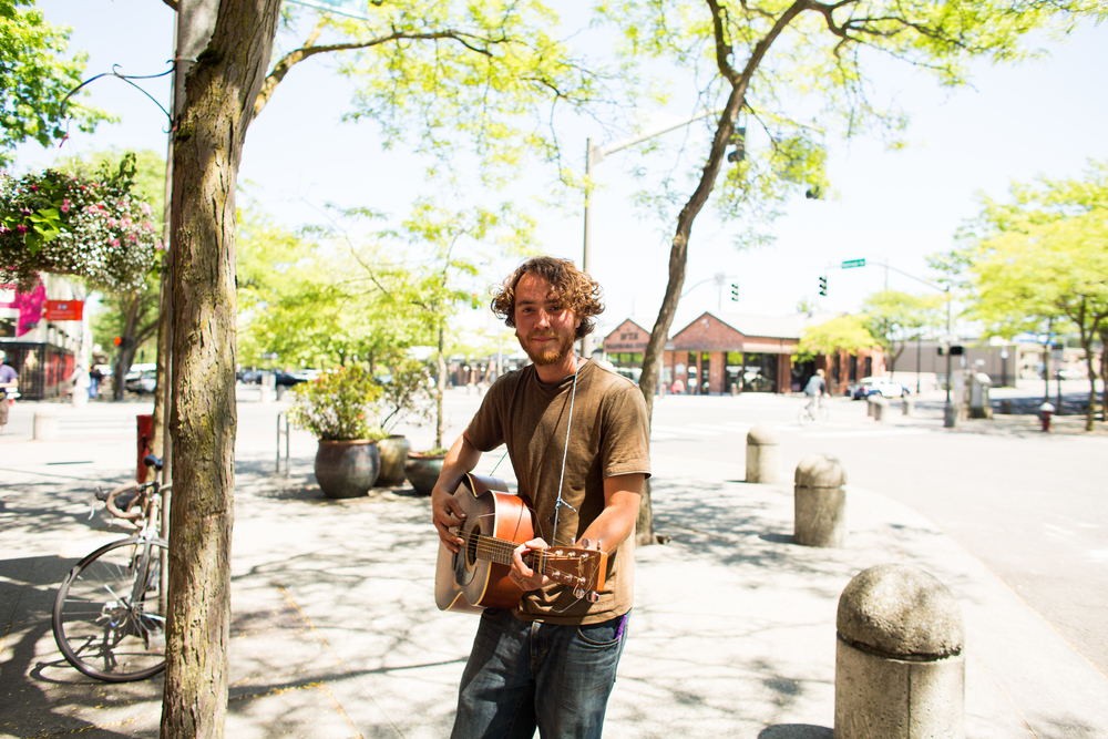 Downtown Busker