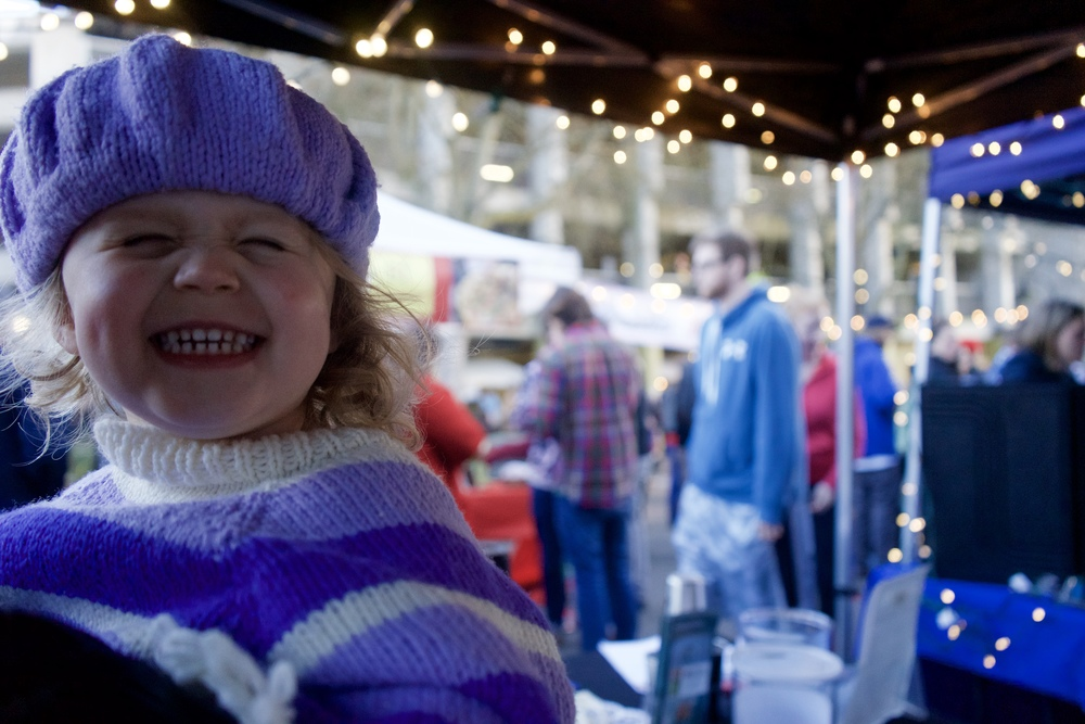 Commercial Street Night Market = Smiles all around