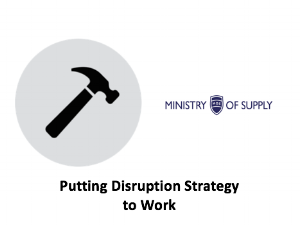 Class 12 - Putting Disruption Strategy to Work    Lecture:    Slides    |    Case    |    Homework    |    Media