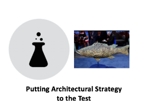 Class 16 - Putting Architectural Strategy to the Test    Lecture:    Slides    |    Case/Homework    |    Media