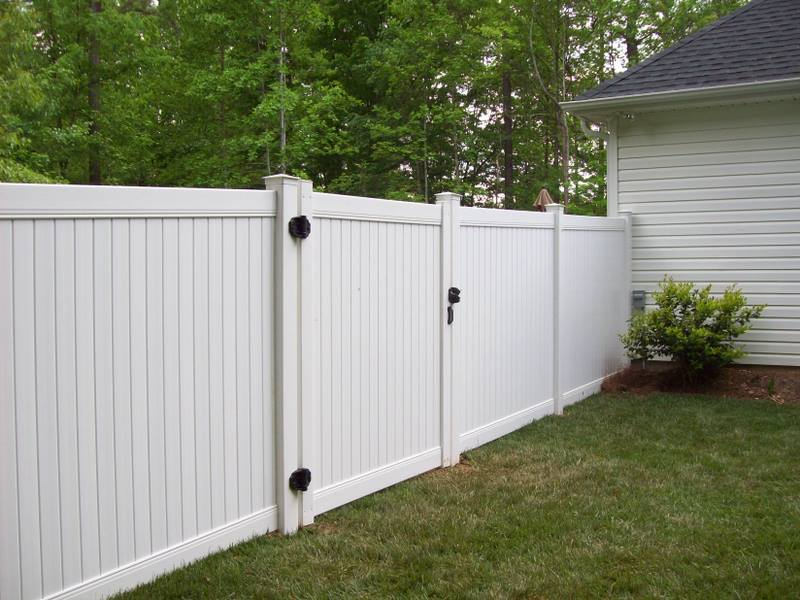 Residential Fencing — Gaston Fence Co., Inc.