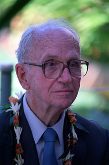 Best-selling author James Michener