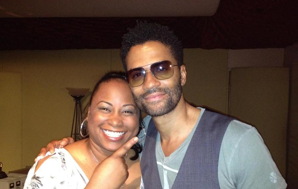 Quencie and Eric Benét