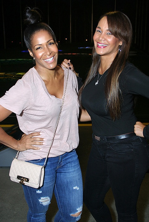 Sheree Whitfield with upcoming WEtv star Gwen Boyd-Moss