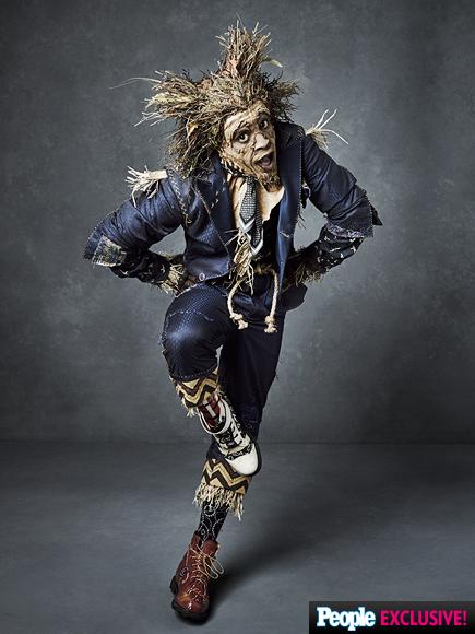 Elijah Kelley as the Scarecrow