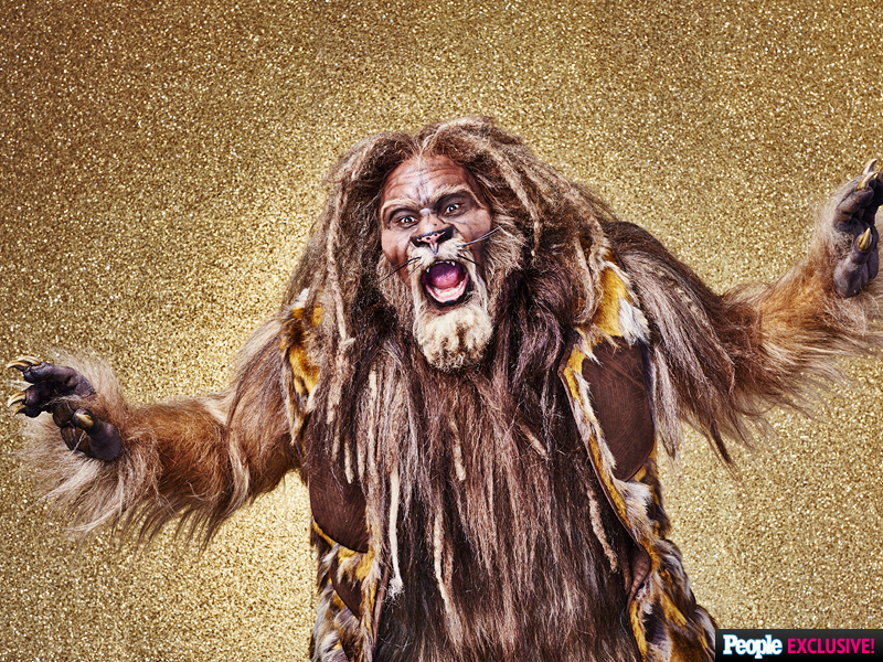 David Alan Grier as the Cowardly Lion