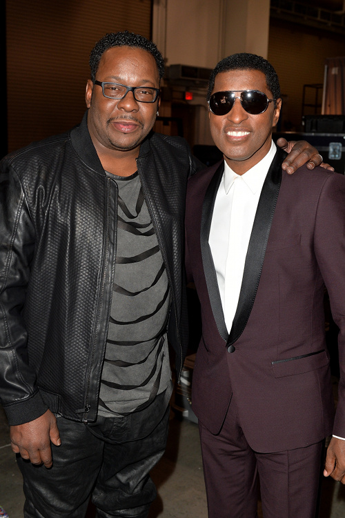 Bobby Brown and Babyface