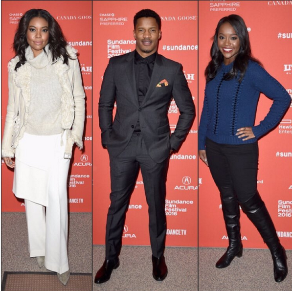The Stars of Birth of a Nation at Sundance