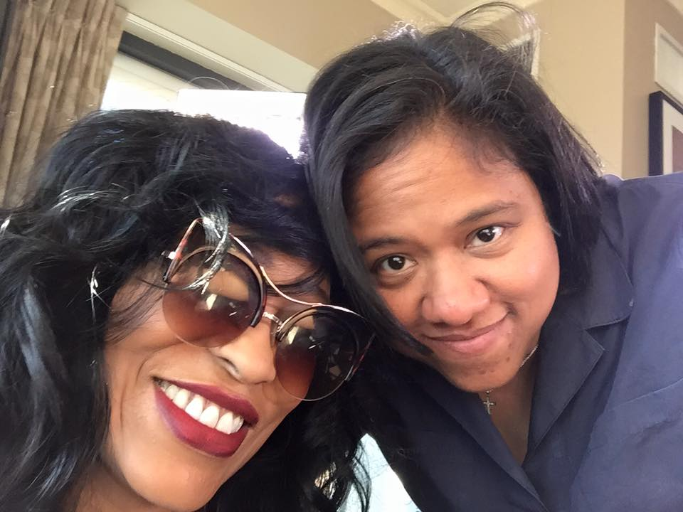 Miki Howard and Christine Swanson