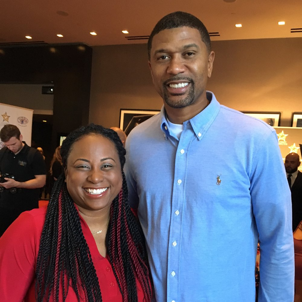 me with Jalen Rose