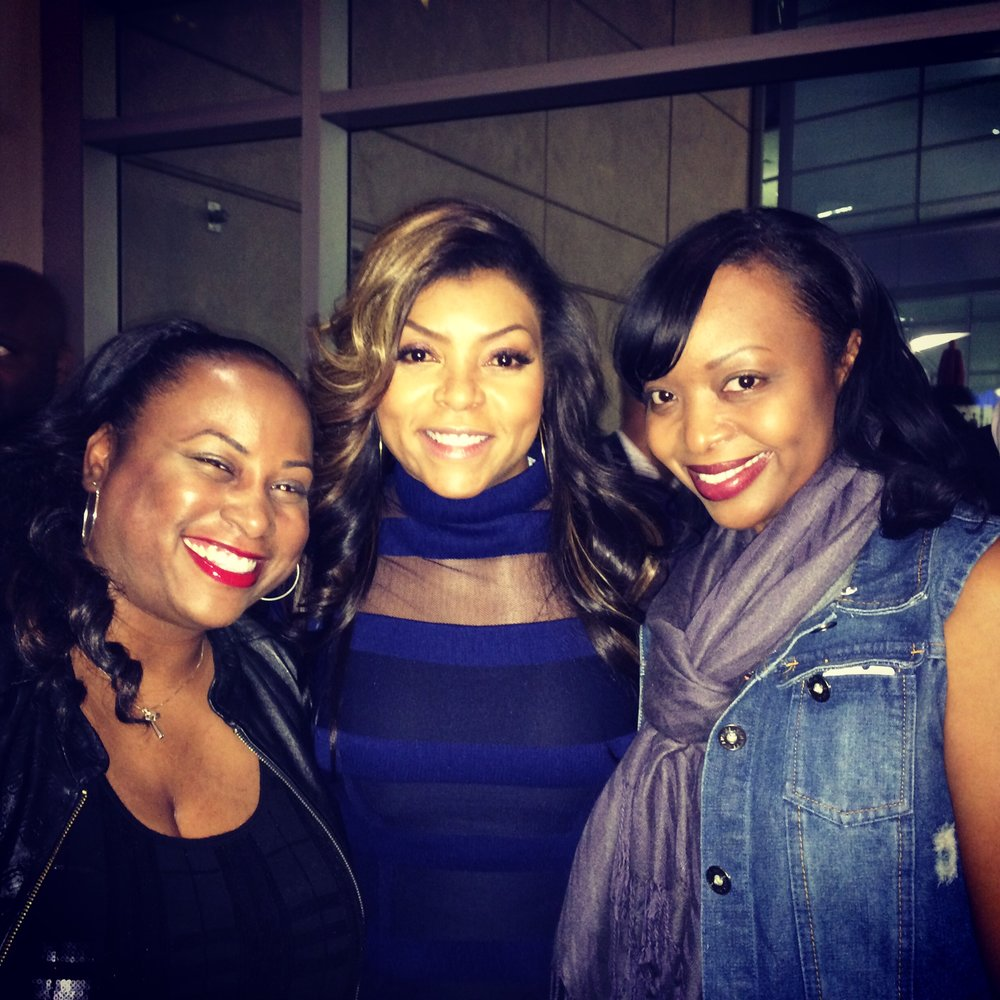 Quencie, Taraji and Tam