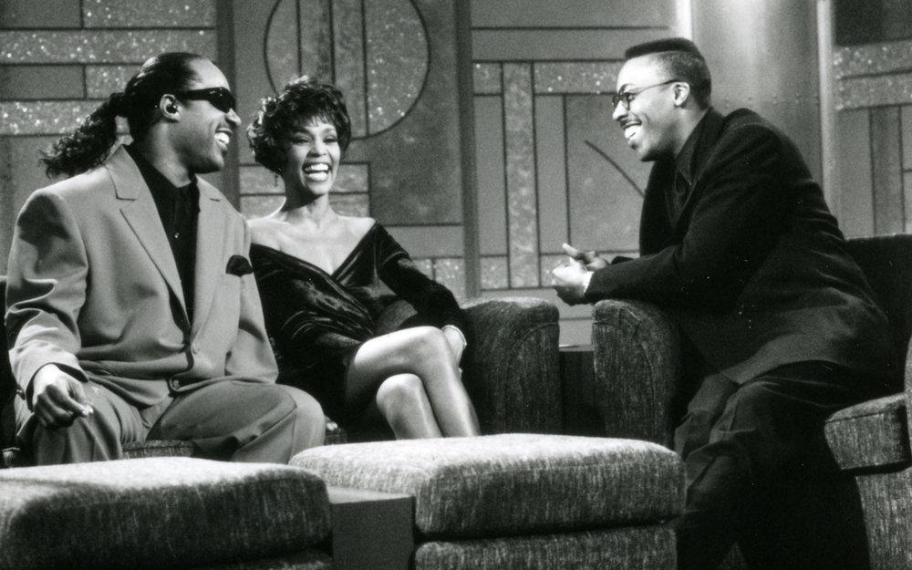 Whitney Houston and Stevie Wonder on The Arsenio Hall Show