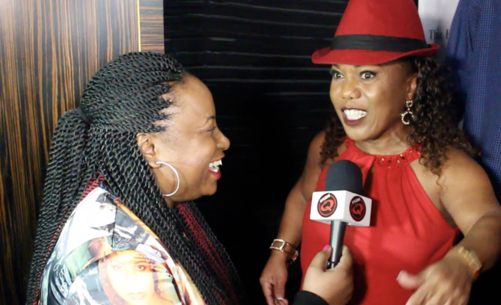 Quencie Interviewing Tonya Banks