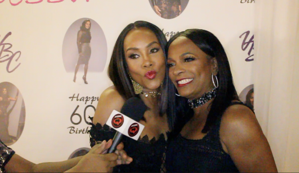 Vivica A. Fox and Vanessa Bell Calloway