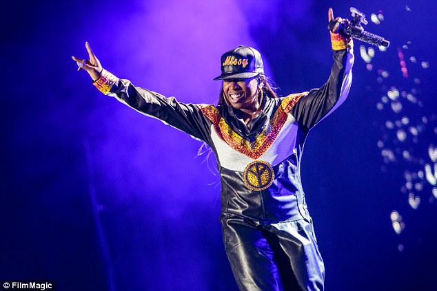 Josh Brasted/FilmMagic Missy Elliott performs at the 2015 Essence Music Festival on July 4, 2015 in New Orleans.
