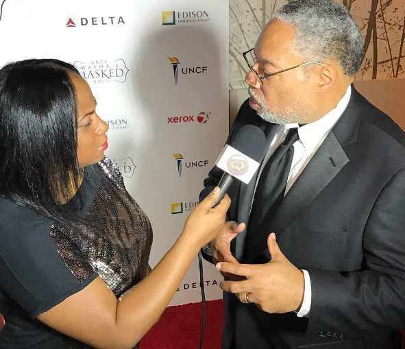Here I am with with Lonnie Bunch III
