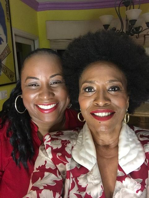 Quencie and Jenifer Lewis