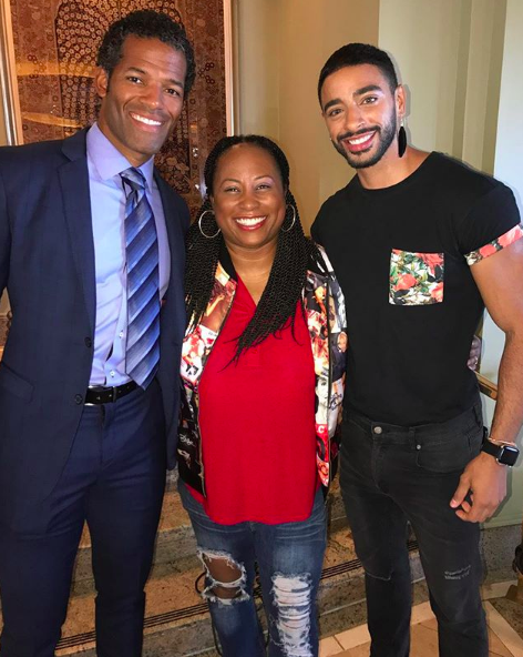 Benjamin Patterson   (OWN 'Greenleaf'), Quencie &   Laith Ashley  ( N  BC 'Strut' ),