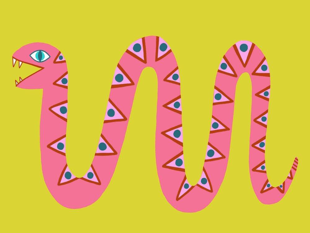 Pink Snake