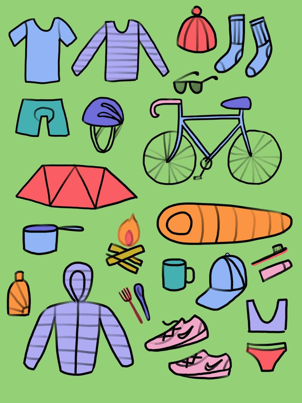 Bike Touring Packing Guide