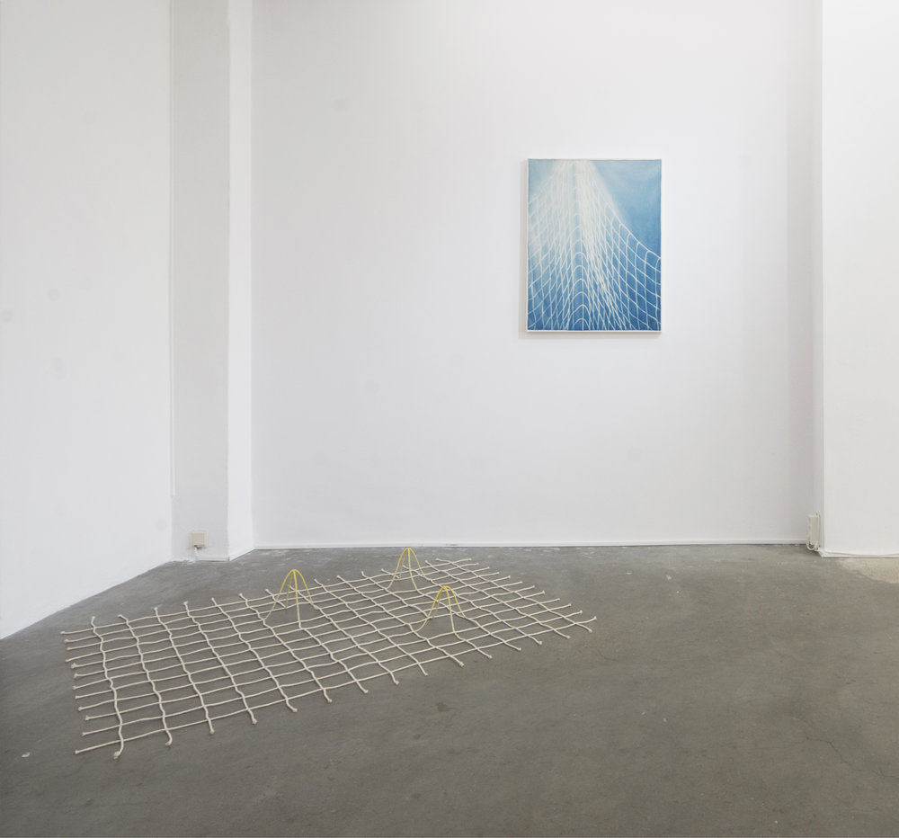 Nature of Particles (installation view at Albada Jelgersma Gallery), 2018
