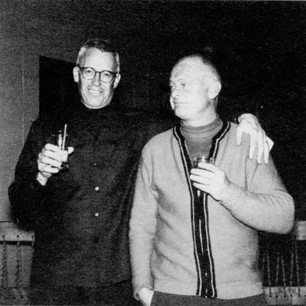 Wendell Miller & Bob Ely in the Polar B'ar Lounge 1964