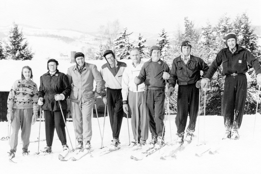Skiing at Ascutney circa 1950's
