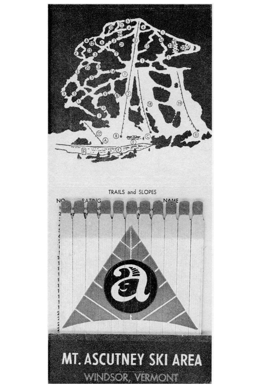 1960's matchbook